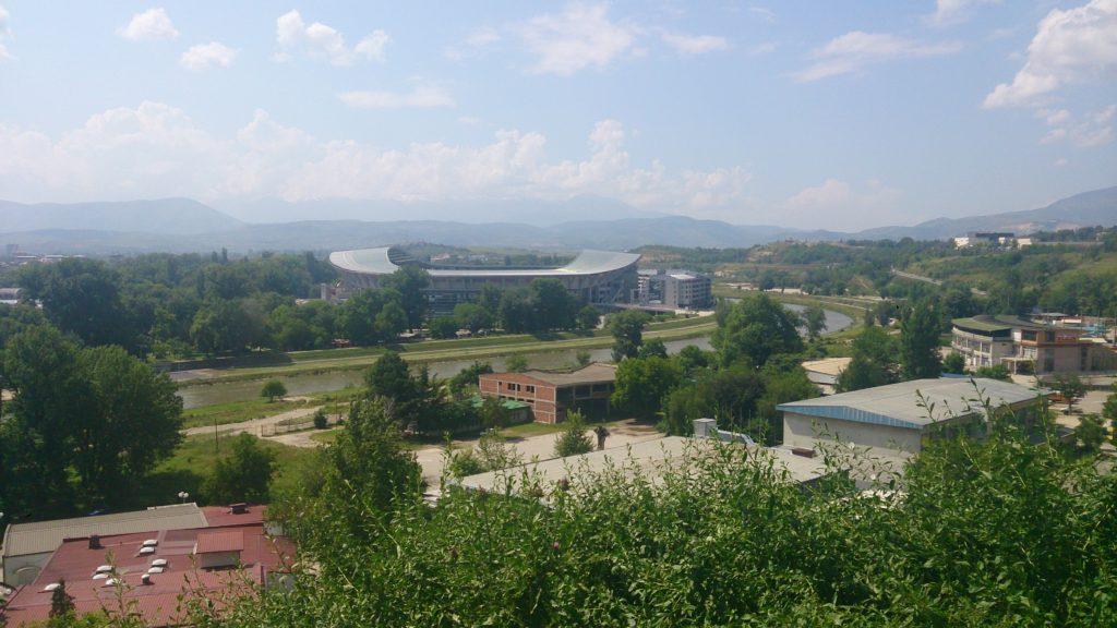 Výhled z pevnosti Kale Skopje