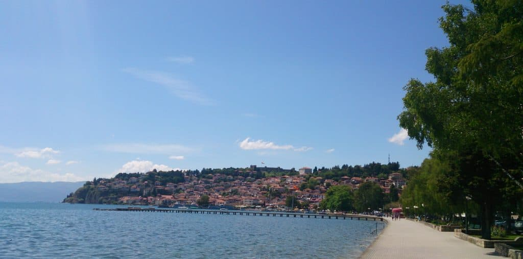 Ohridské jezero, cestopis Makedonie