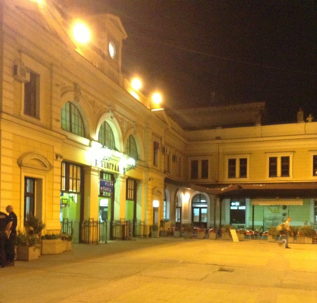 Cestopis Bělehrad - Pohled na nádraží