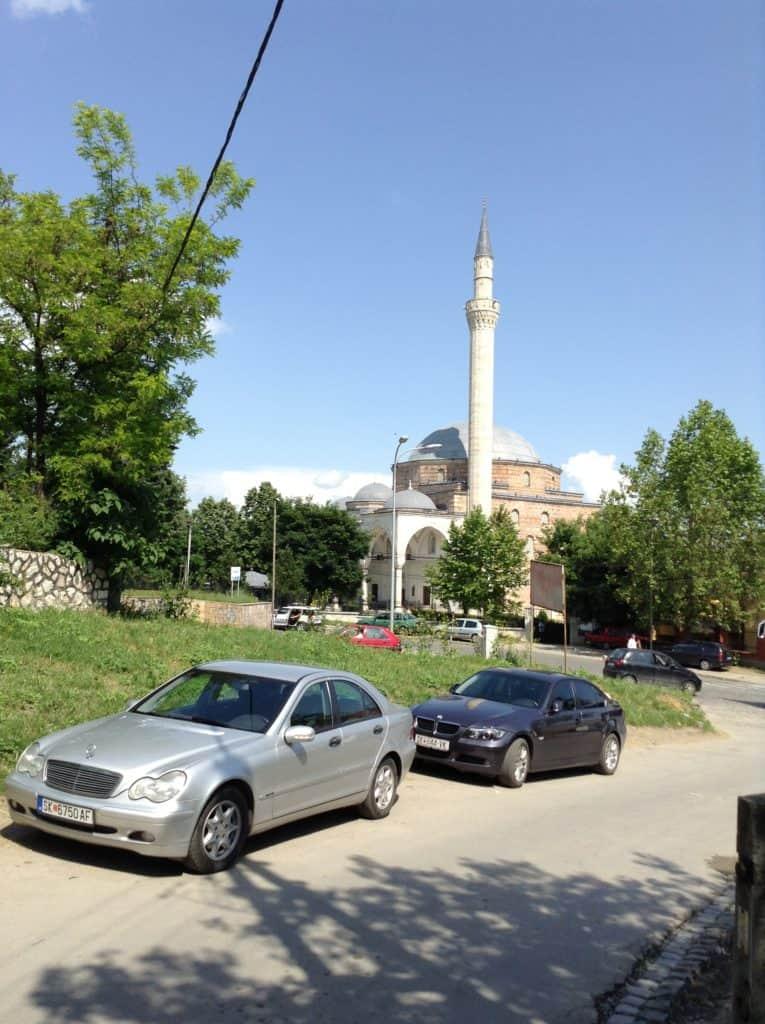 Mustafa pašova mešita Skopje - cestopis Makedonie