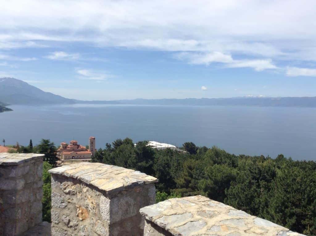 Cestopis Makedonie - Ohridské jezero - Samuelova pevnost