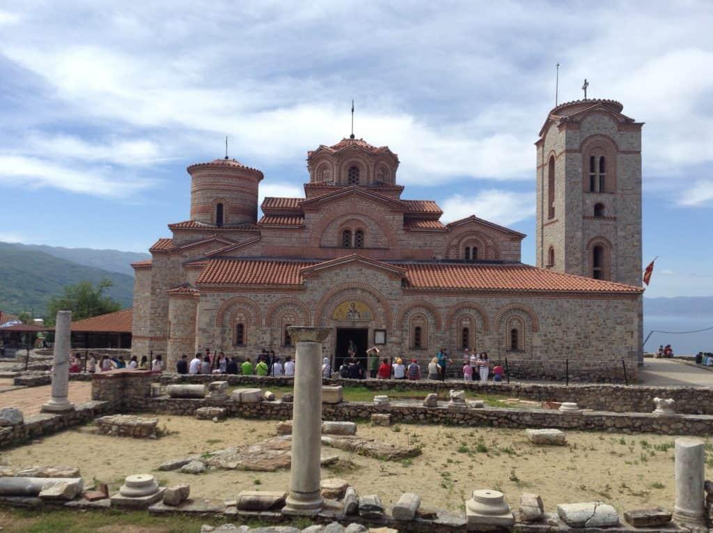 Cestopis Makedonie - Ohridské jezero - Klášter sv. Pantelejmona