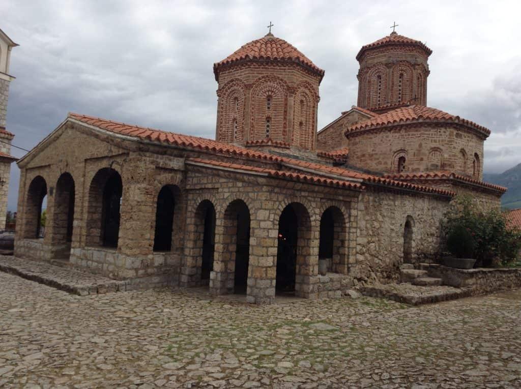 Cestopis Makedonie - Ohridské jezero - Klášter sv. Nauma
