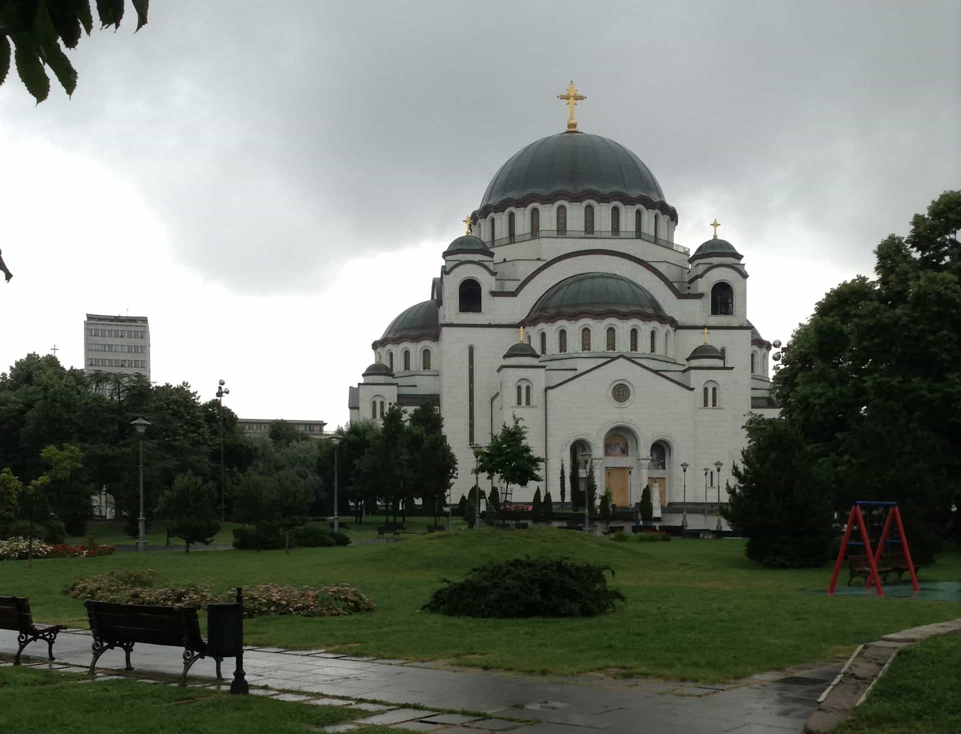 Největší pravoslavný chám- cestopis Bělehrad