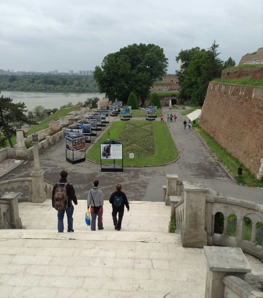 Cestopis Bělehrad - Pevnost Kalemegdan