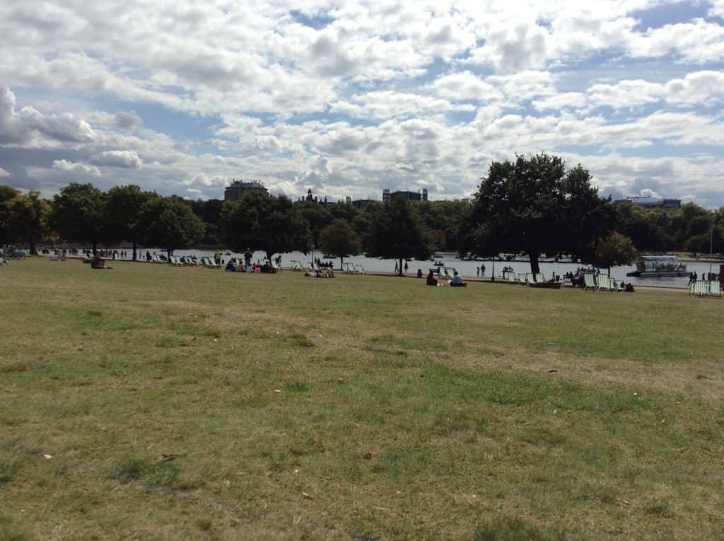 Hyde park - cestopis Londýn