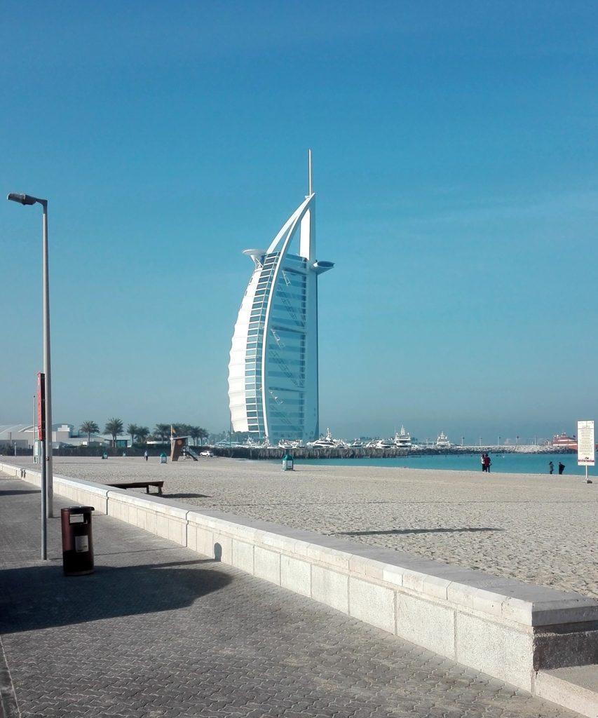 Burj Al Arab - Návštěva Dubaje - cestopis Srí Lanka