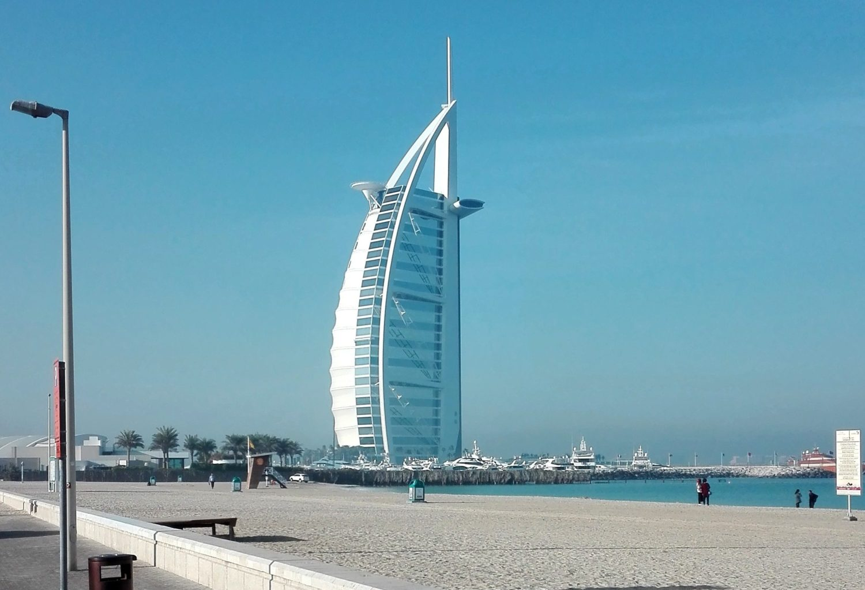 Burj Al Arab - Dubai - cestopis Srí Lanka