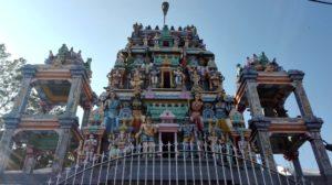 Kali Aman Temple, Negombo, cestopis Srí Lanka