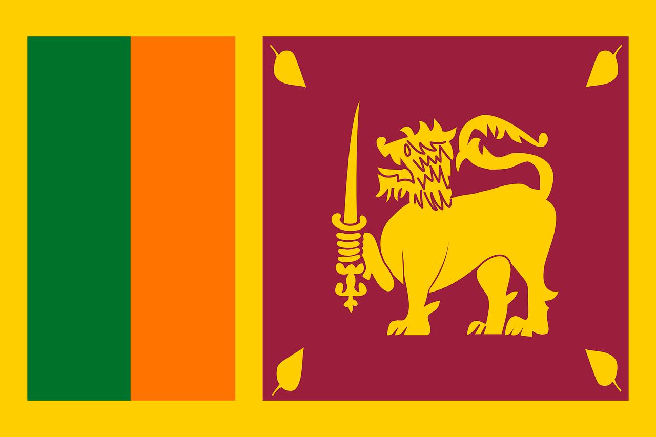 Sri Lanka vlajka
