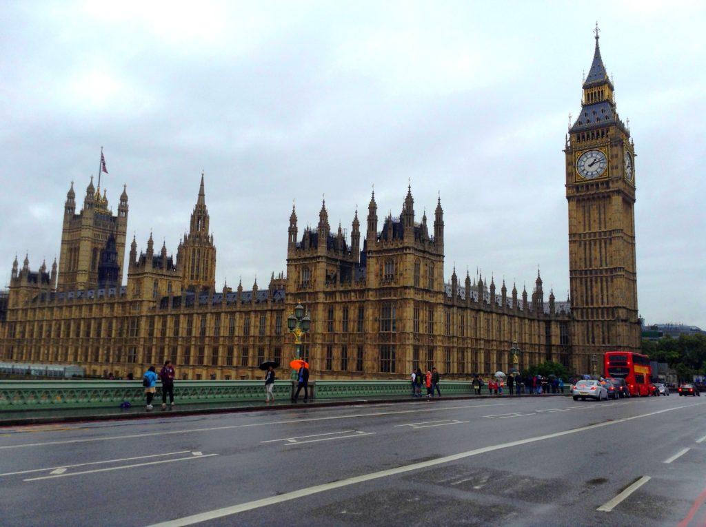 Parlament, Londýn - Cestopis Severovýchodní Anglie