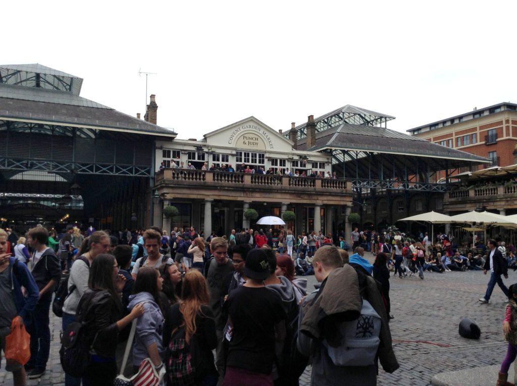 Covent Garden, Londýn - Cestopis Severovýchodní Anglie