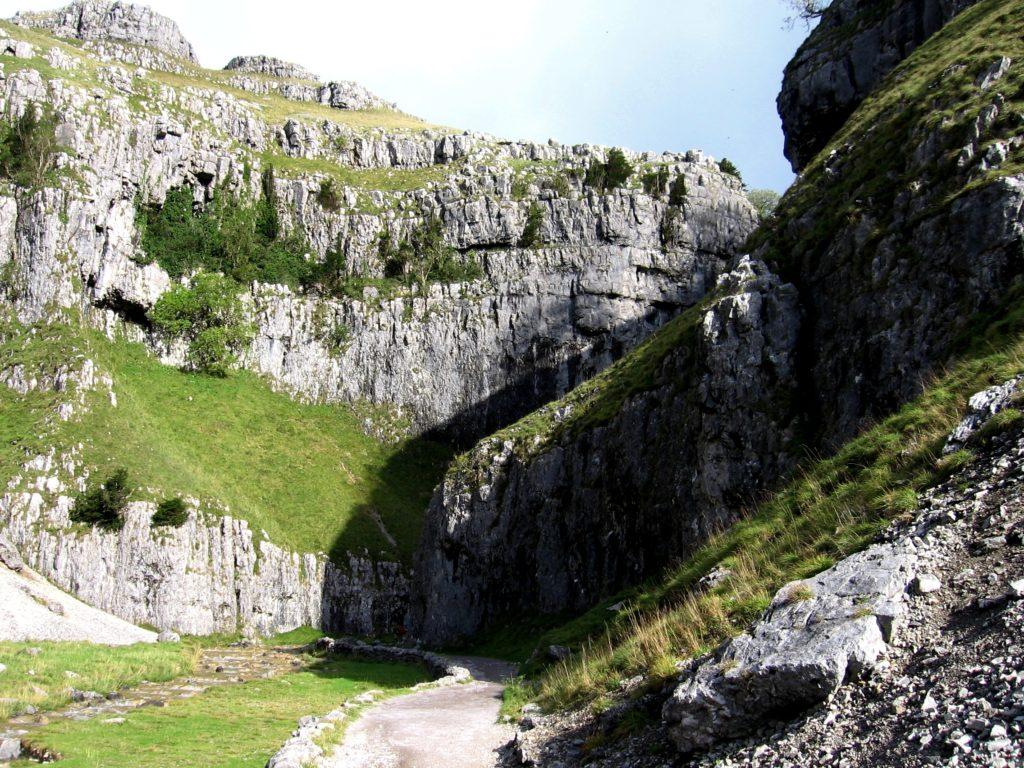 Soutěska Yorkshire Dales - cestopis Severovýchodní Anglie