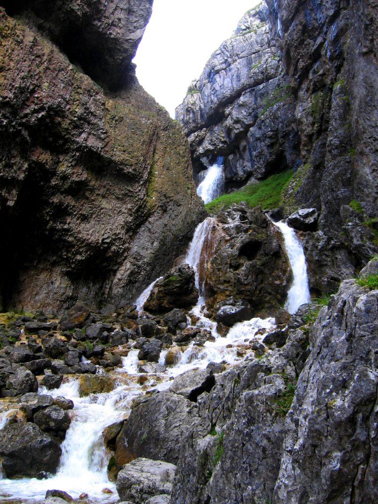 Vodopád Yorkshire Dales - cestopis Severovýchodní Anglie