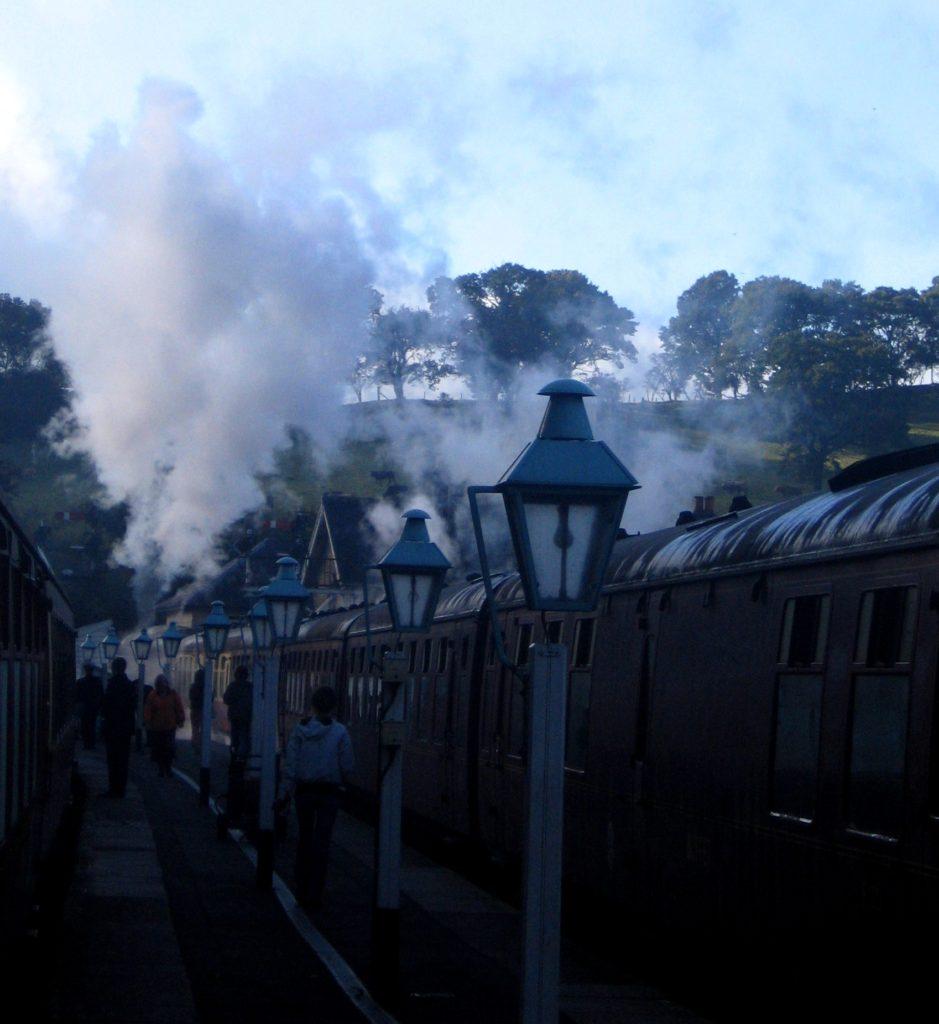 Parní vlak - Whitby- cestopis Severovýchodní Anglie