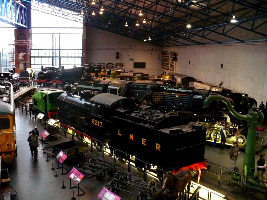 Muzeum lokomotiv York - cestopis Severovýchodní Anglie