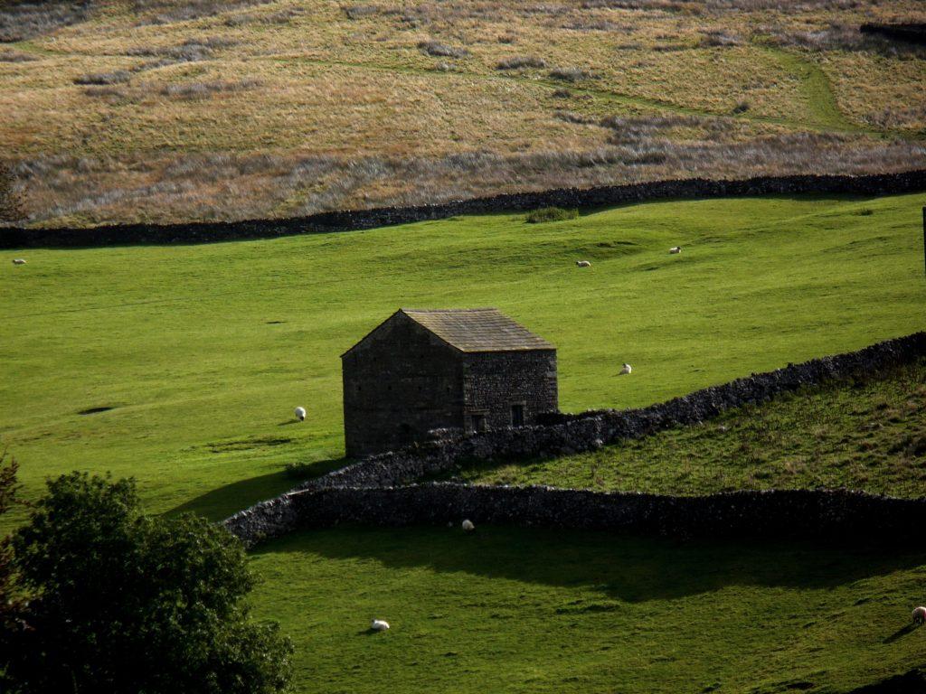 Chaloupka Yorkshire Dales - cestopis Severovýchodní Anglie