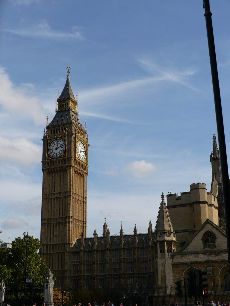 Big Ben, cestopis Londýn