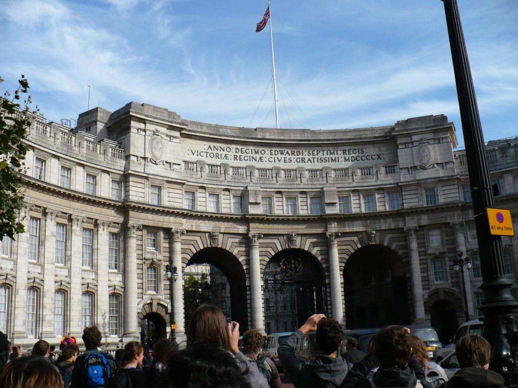 Admiralty Arch, Londýn - Cestopis Severovýchodní Anglie
