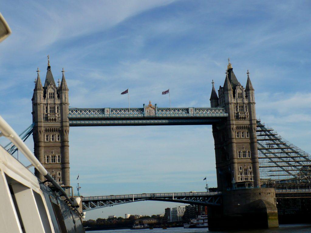 Tower Bridge, Londýn - Cestopis Severovýchodní Anglie