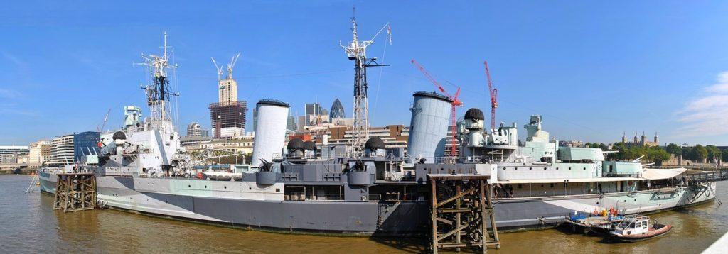 HMS Belfast, Londýn - Cestopis Severovýchodní Anglie