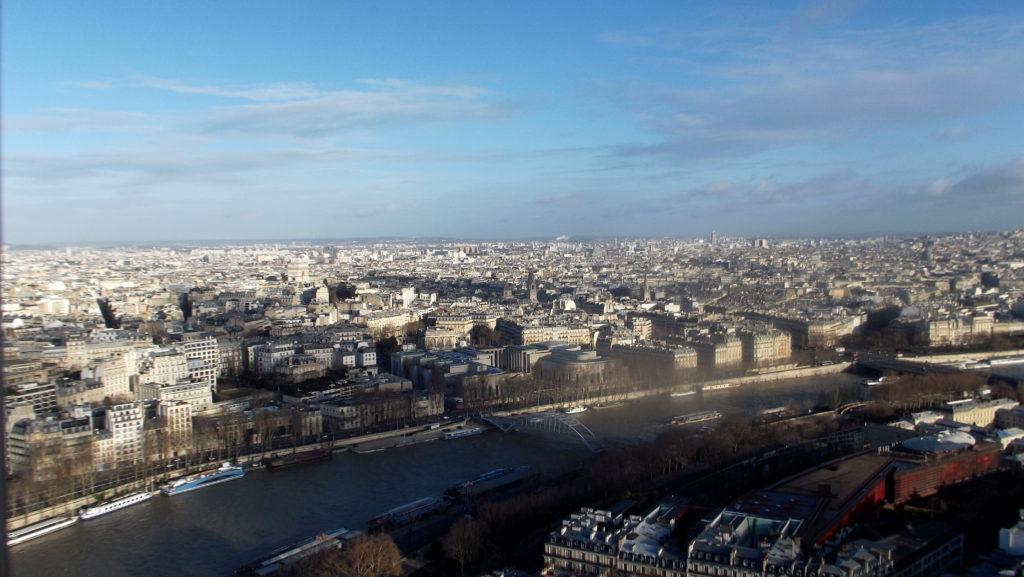 Paříž - cestopis, Pohled na část Paříže