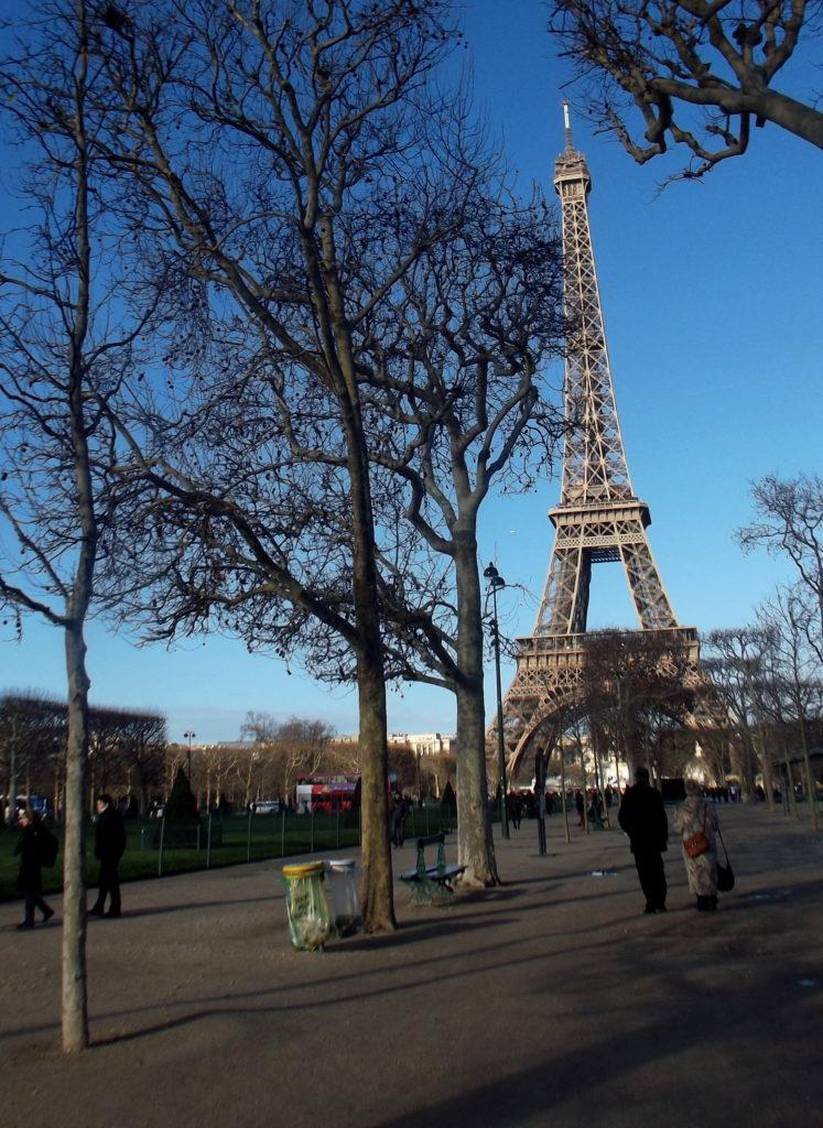 Paříž - cestopis, Eiffelova věž