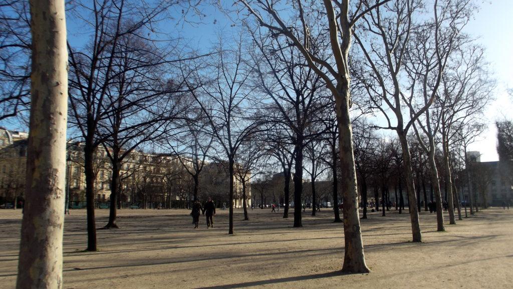 Paříž - cestopis, Martova pole