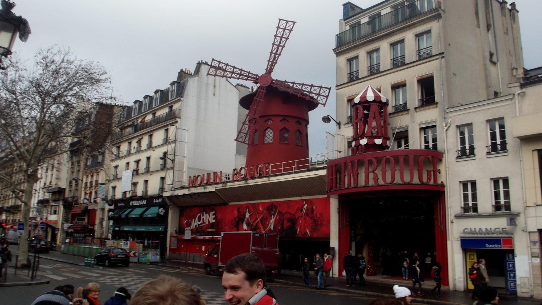 Cestopis Paříž přes Silvestra - Moulin Rouge