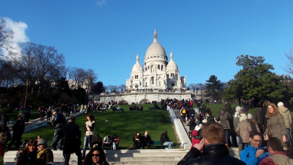 Cestopis Paříž přes Silvestra - Bazilika Sacre Coeur