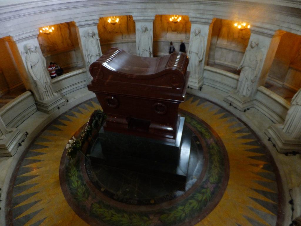 Hrobka Napoleona, cestopis Paříž