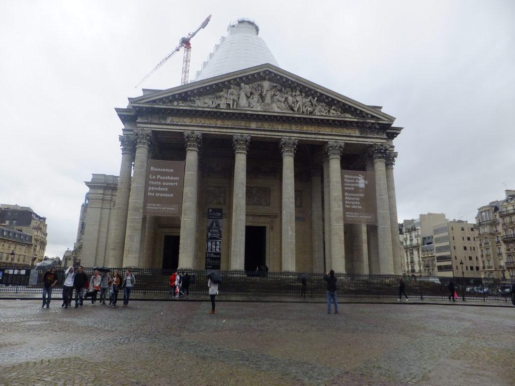 Pantheon, cestopis Paříž