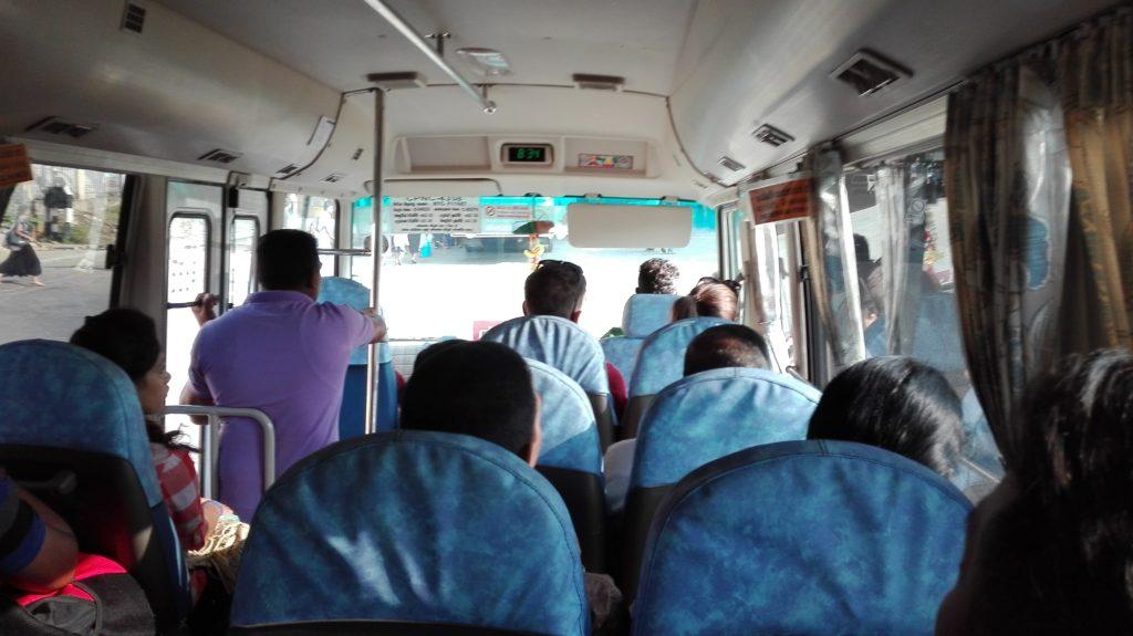 Kandy autobusové nádraží - Minibus z Kandy do Dambully, cestopis Srí Lanka