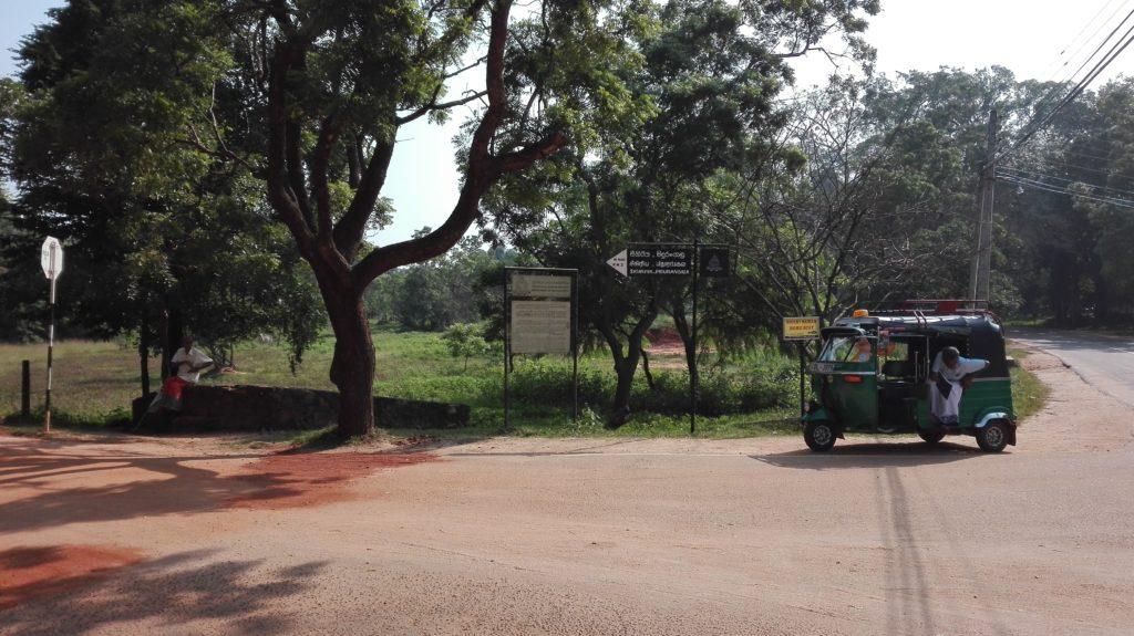 Pidurangala, Sigiriya, cestopis Srí Lanka