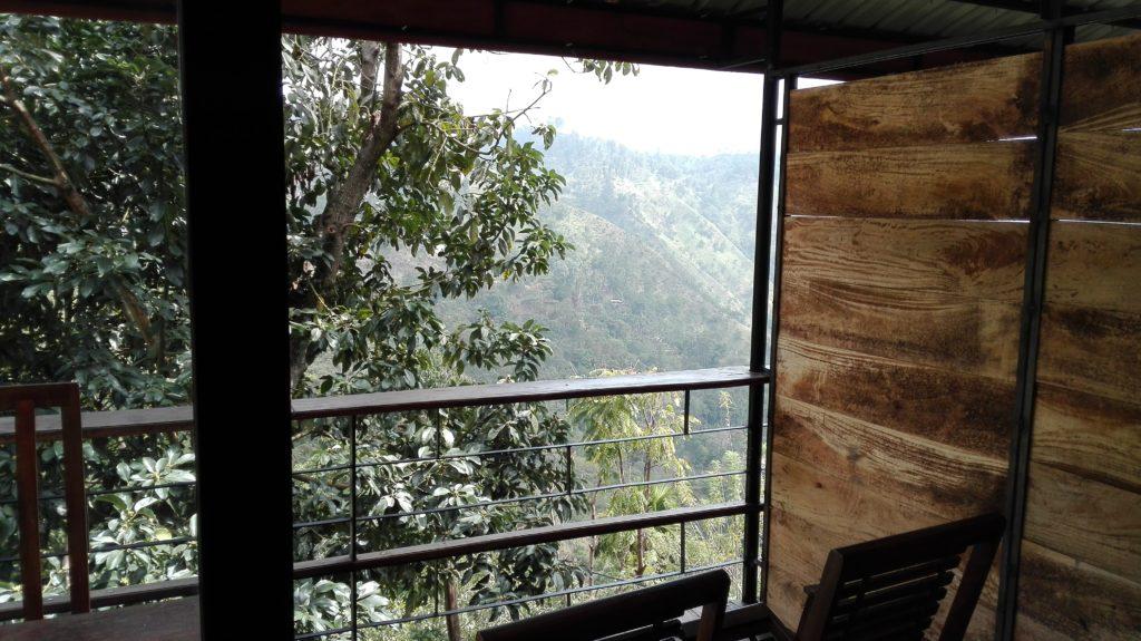 Ubytování v Ella Adams view, cestopis Srí Lanka