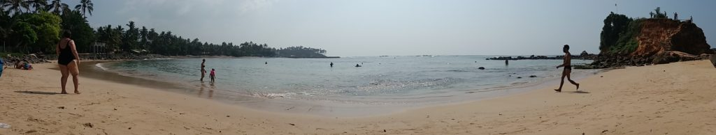 Pláž v Mirisse