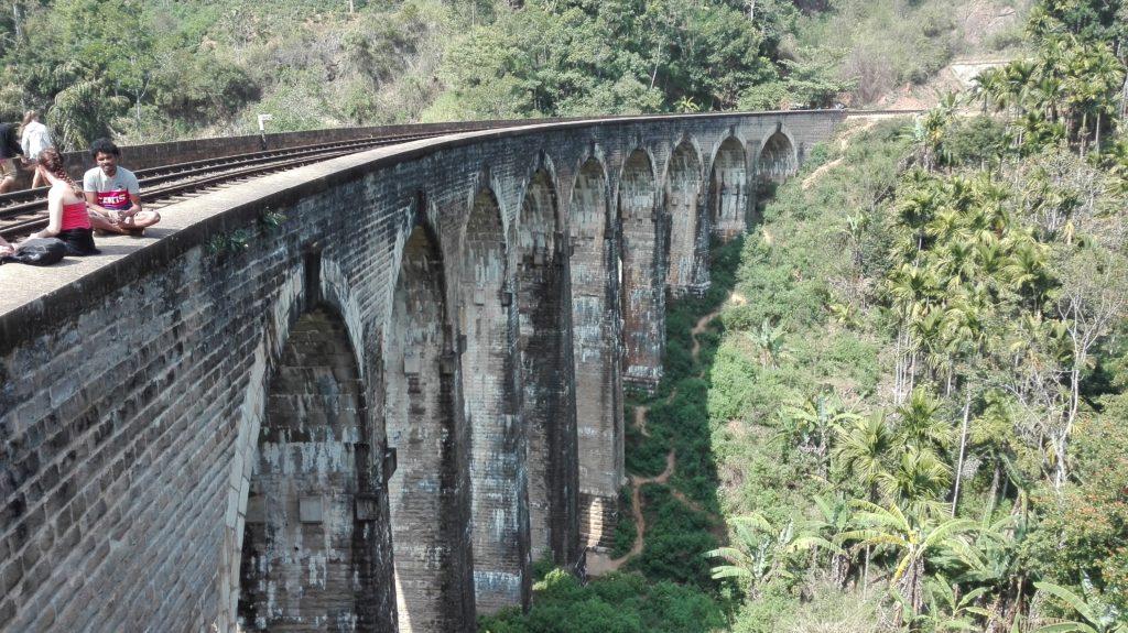 Demorada bridge ELLA, cestopis Srí Lanka