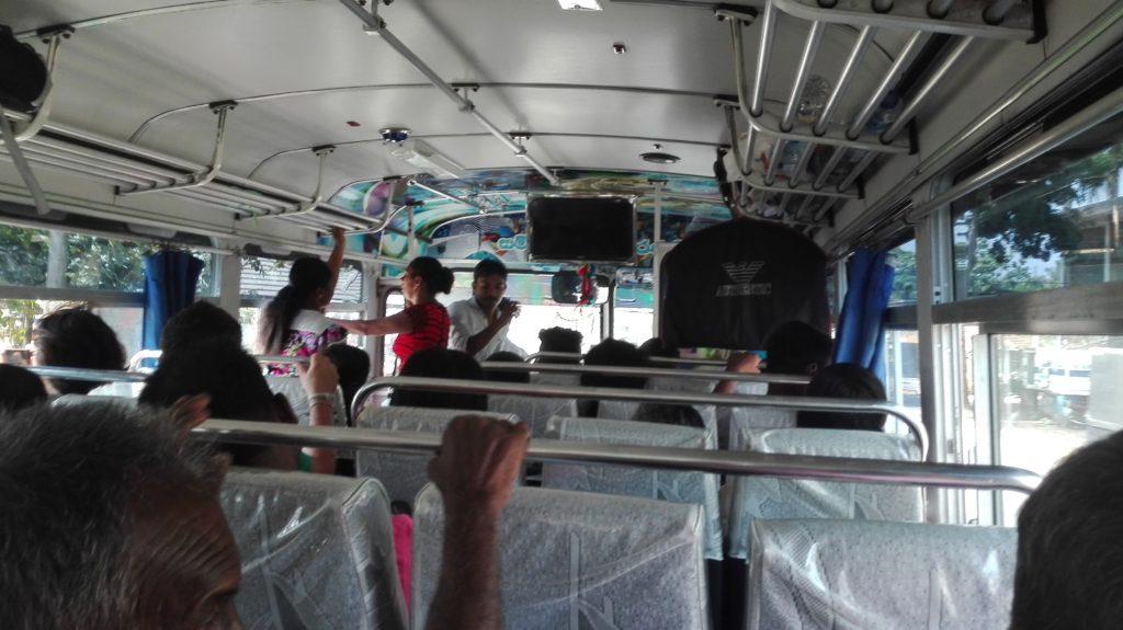Autobus do Galle, cestopis Srí Lanka