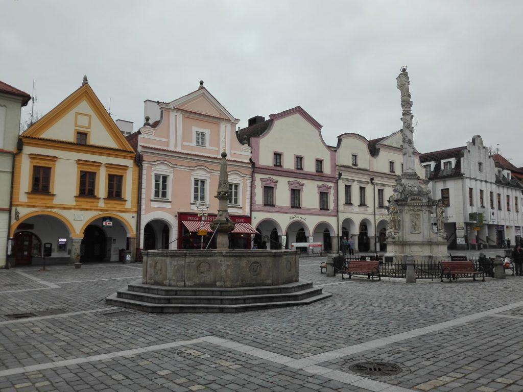 Masarykovo náměstí, výlet do Třeboně