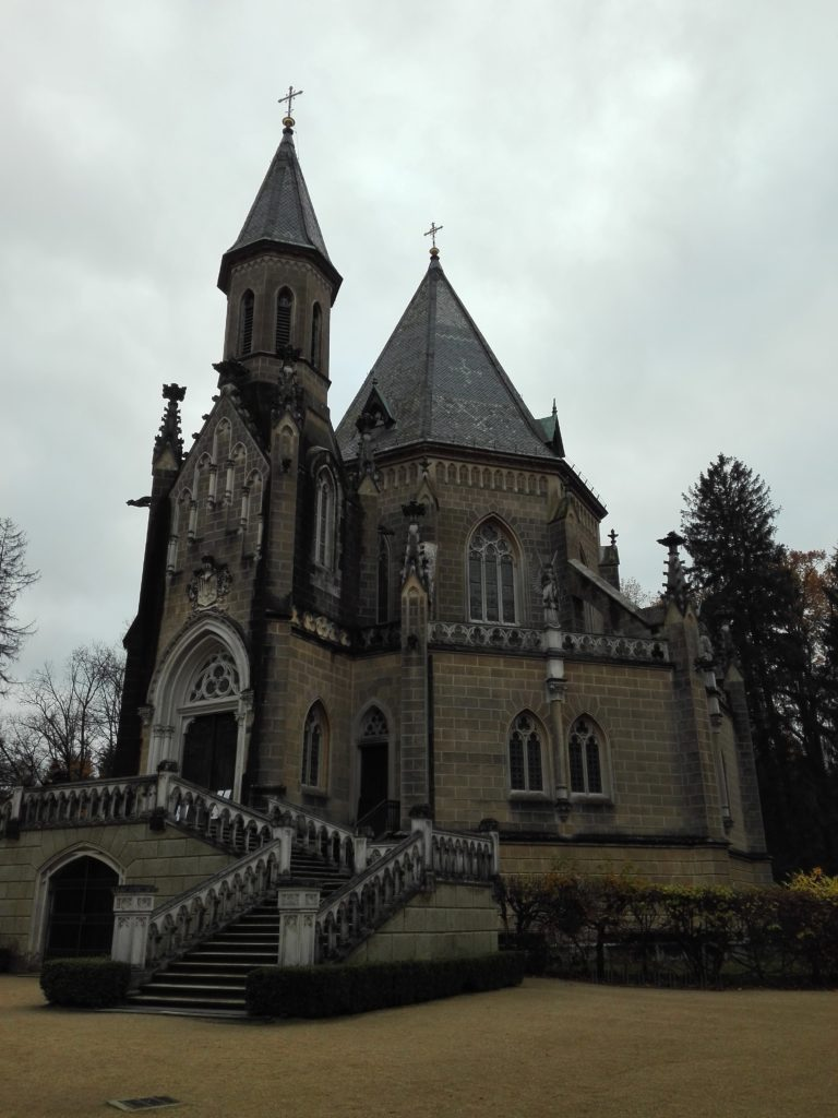 Schwarzenberská hrobka, výlet do Třeboně