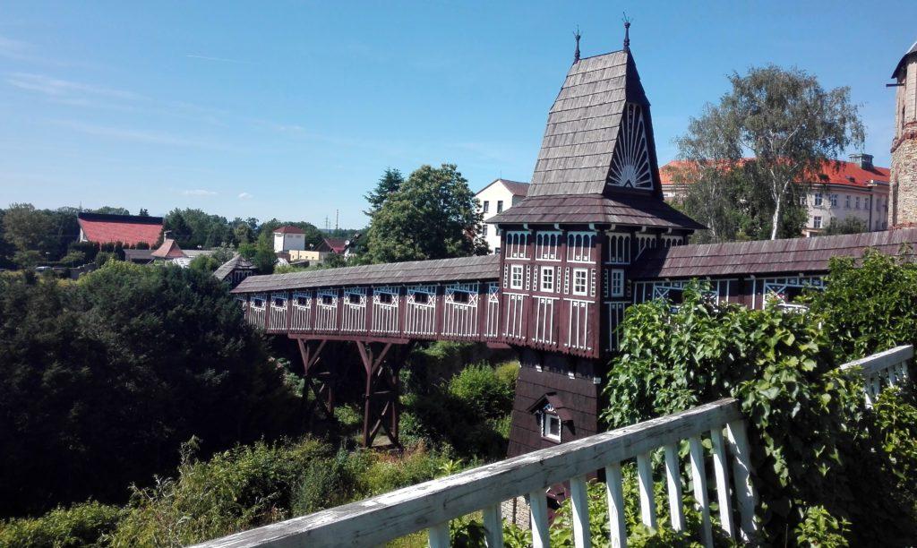 Dřevěný most, výlet Nové Město nad Metují