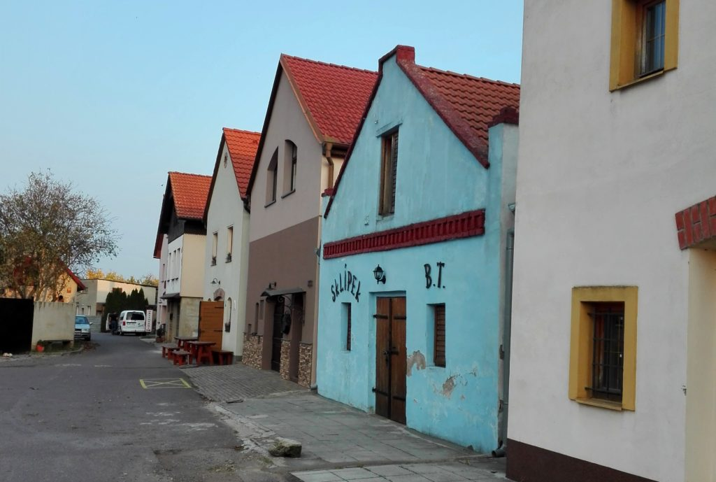 Sklepní ulička Nový Šaldorf - Sedlešovice