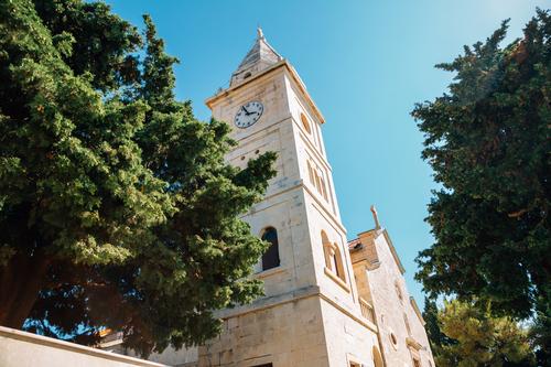 Kostel sv. Jiřího, dovolená Primošten