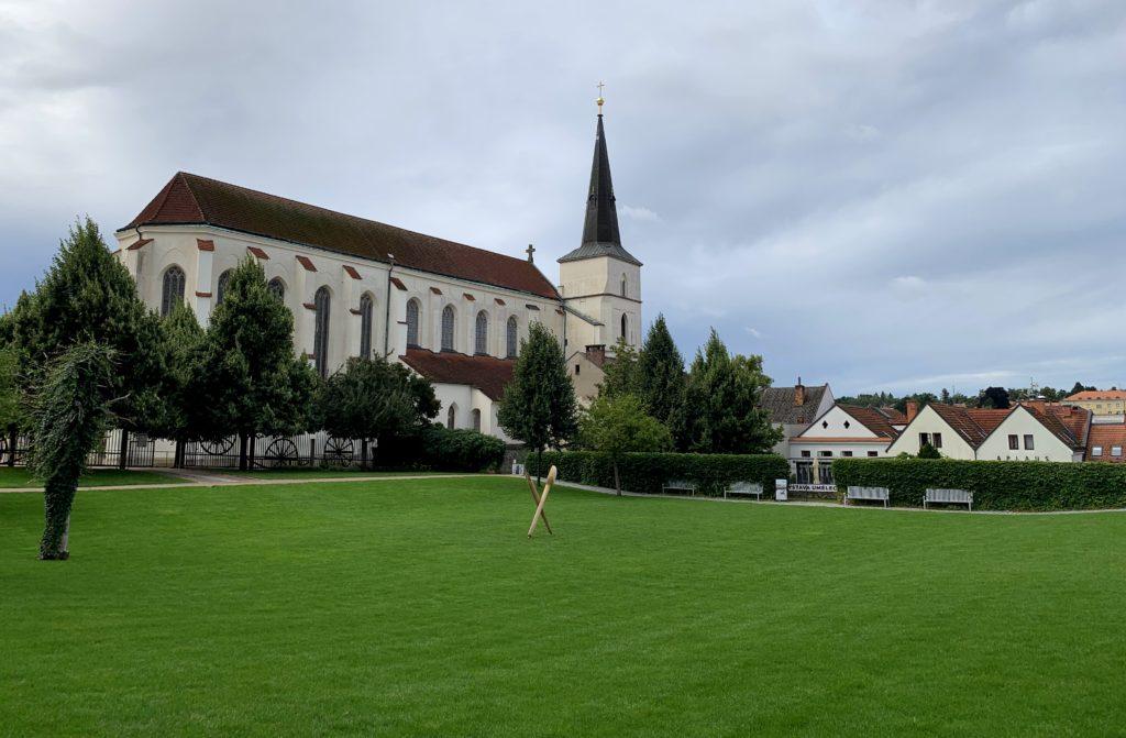 kostel Povýšení sv. Kříže u Klášterních zahrad